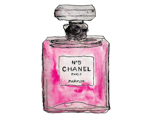chanel, overlay, and perfume image