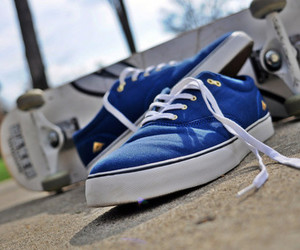 blue, girls, and vans image