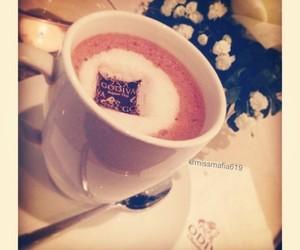 cafe, dessert, and godiva image
