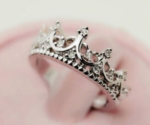 ring, crown, and princess image