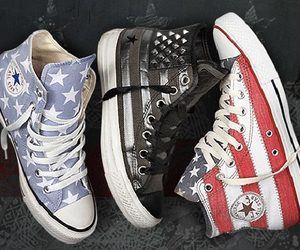 converse, all star, and black image