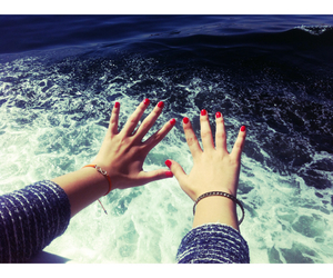 hands, happy, and natural image