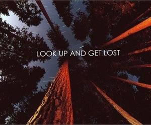 get lost, quote, and look up image
