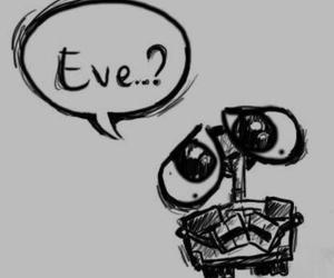 wall-e, eve, and disney image