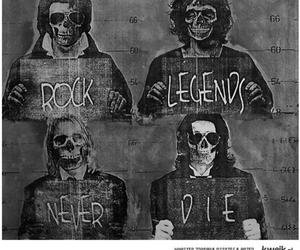 rock, legend, and die image