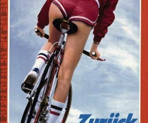 1980s, bicycle, and cover image