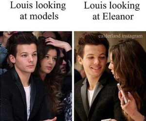 louis tomlinson, one direction, and eleanor image