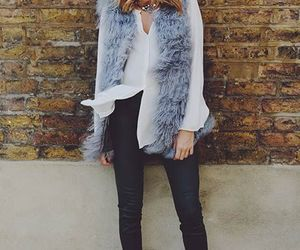 fall, fashion, and gilet image