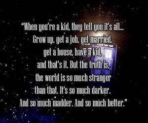 awesome, true, and doctor who image