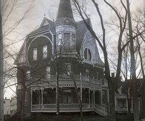 house, gothic, and victorian image