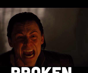 Avengers, broken, and crying image