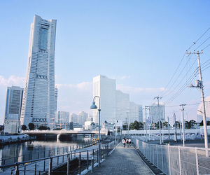 japan and Yokohama image