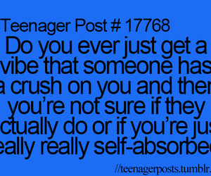 crush, teenager post, and quote image