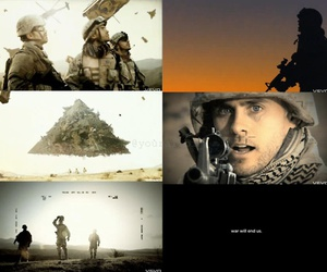 jared leto, war, and triad image