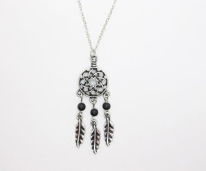 dream catcher, gift, and jewelry image