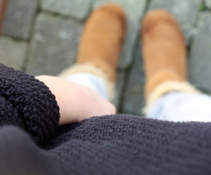 black, sweeter, and uggs image