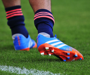 cleats, football, and futbol image