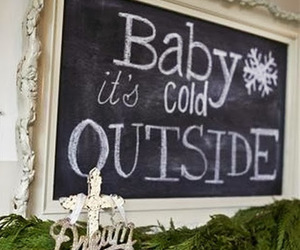 cold, christmas, and decoration image