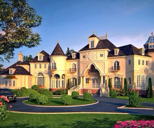 home, house, and mansion image