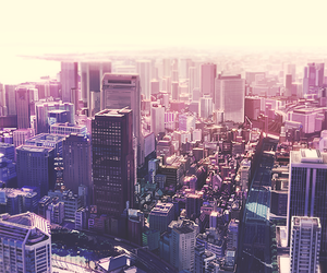 city, anime, and beautiful image