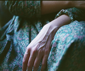 hand, veins, and vintage image