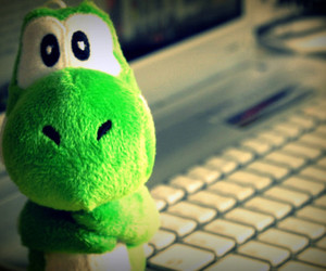 cute, yoshi, and sweet image