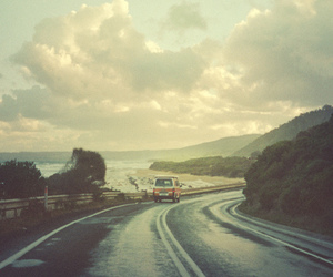 road, photography, and car image