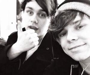 Clifford, michael, and 5sos image