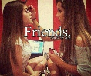 friends, make up, and best friends image