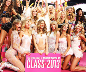 Taylor Swift, Victoria's Secret, and model image