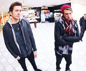 danny jones, dougie poynter, and McFly image