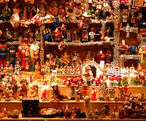 christmas tree, gifts, and lights image