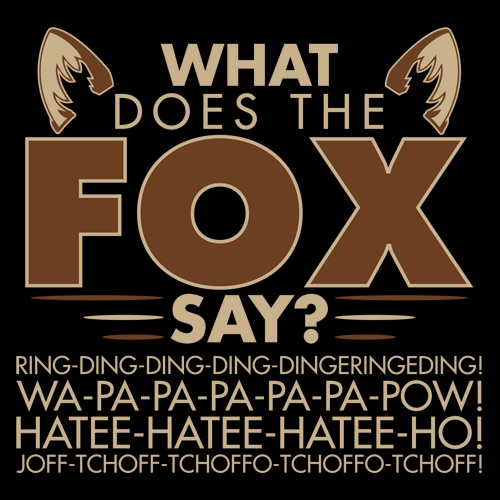 Image result for what does the fox say