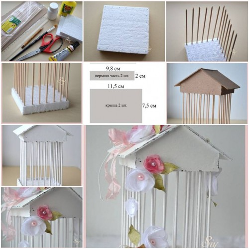 How To Make Decorative Cage Step By Step Diy Tutorial