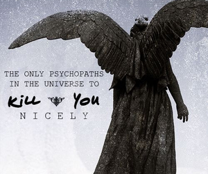 doctor who and weeping angels image