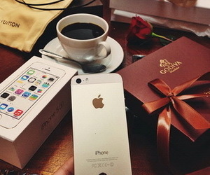 iphone, luxury, and apple image