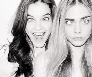 model, barbara palvin, and cara delevingne image