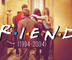 friends and 1994-2004 image