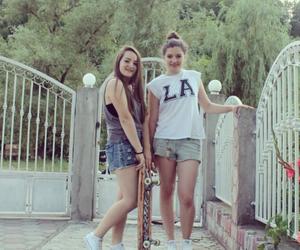 friendship, bestfriends, and girls image