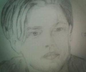 draw, titanic, and dicaprio image