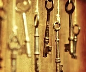 keys, vintage, and life image