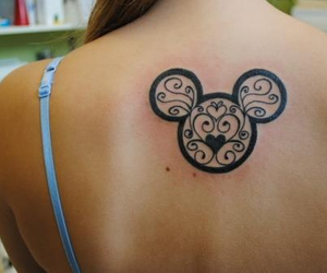 disney, tattoo, and want image