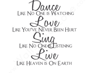 dance, love, and sing image
