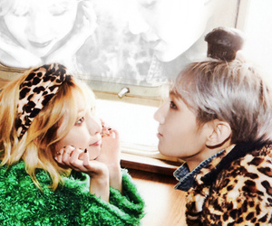 trouble maker, hyuna, and hyunseung image