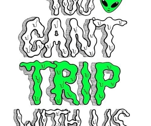 alien and trip image