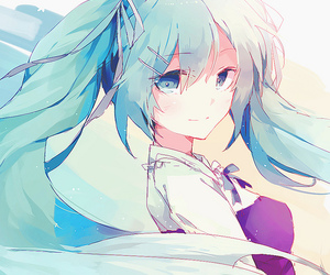 vocaloid, hatsune miku, and anime girl image