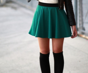 beautiful, fashion, and skirt image