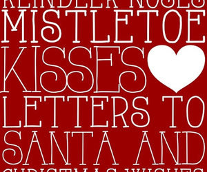 christmas, mistletoe, and santa image