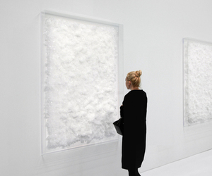 art, pale, and white image
