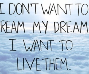 don't give up, dreams, and life image
